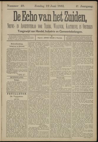 Echo van het Zuiden 1881-06-19