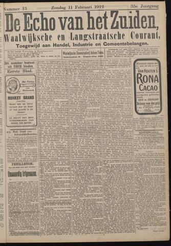 Echo van het Zuiden 1912-02-11