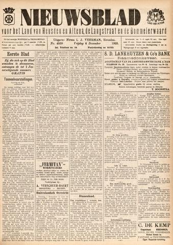 Nieuwsblad het land van Heusden en Altena de Langstraat en de Bommelerwaard 1925-12-04