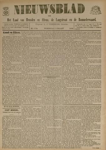 Nieuwsblad het land van Heusden en Altena de Langstraat en de Bommelerwaard 1899-03-08
