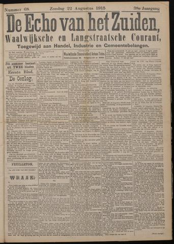 Echo van het Zuiden 1915-08-22