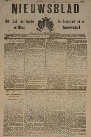 Nieuwsblad het land van Heusden en Altena de Langstraat en de Bommelerwaard 1887-10-01