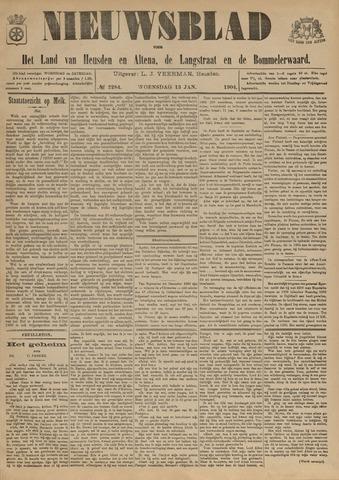 Nieuwsblad het land van Heusden en Altena de Langstraat en de Bommelerwaard 1904-01-13