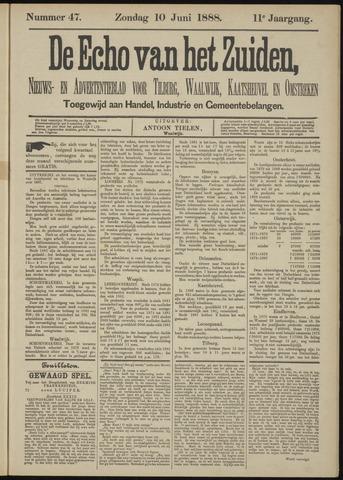 Echo van het Zuiden 1888-06-10