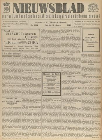 Nieuwsblad het land van Heusden en Altena de Langstraat en de Bommelerwaard 1920-03-13