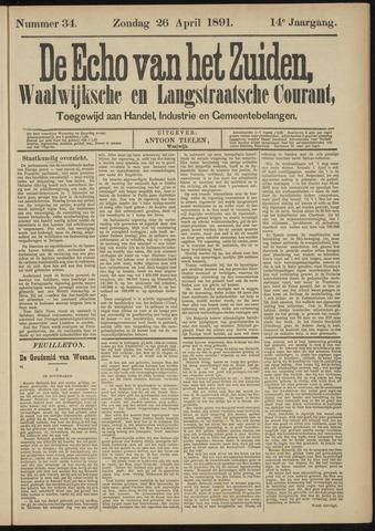 Echo van het Zuiden 1891-04-26
