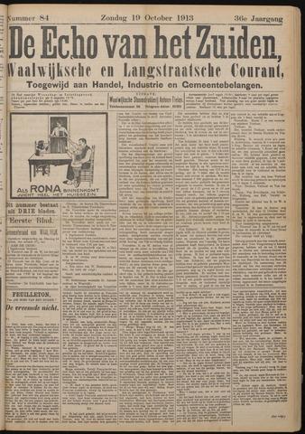 Echo van het Zuiden 1913-10-19