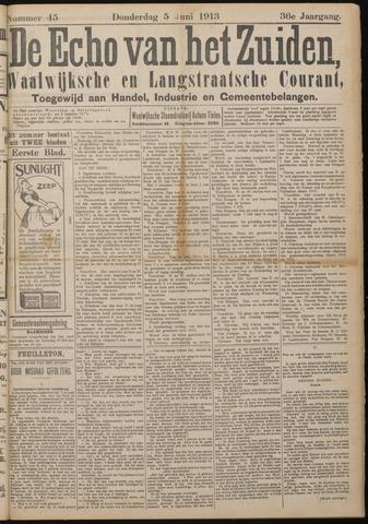 Echo van het Zuiden 1913-06-05