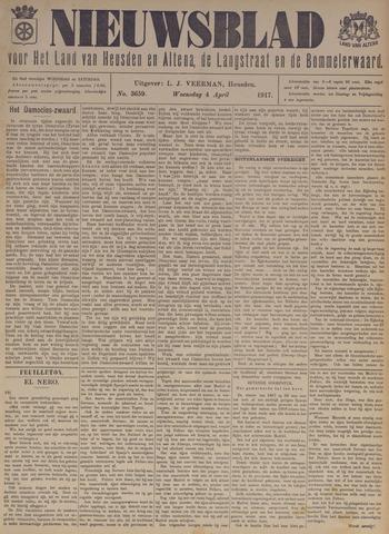 Nieuwsblad het land van Heusden en Altena de Langstraat en de Bommelerwaard 1917-04-04