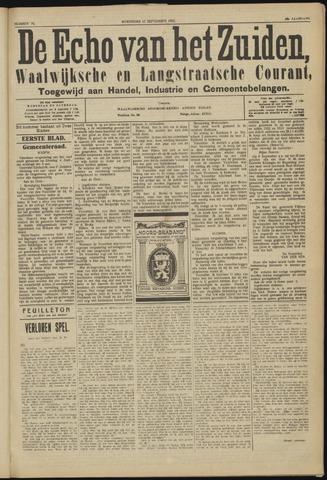 Echo van het Zuiden 1923-09-12