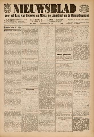 Nieuwsblad het land van Heusden en Altena de Langstraat en de Bommelerwaard 1936-07-15