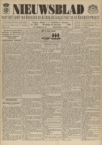 Nieuwsblad het land van Heusden en Altena de Langstraat en de Bommelerwaard 1924-12-10