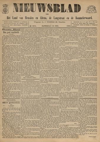 Nieuwsblad het land van Heusden en Altena de Langstraat en de Bommelerwaard 1903-12-12