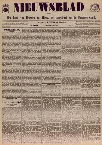 Nieuwsblad het land van Heusden en Altena de Langstraat en de Bommelerwaard 1911-07-08