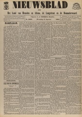 Nieuwsblad het land van Heusden en Altena de Langstraat en de Bommelerwaard 1915-08-04