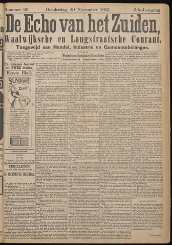 Echo van het Zuiden 1913-11-20