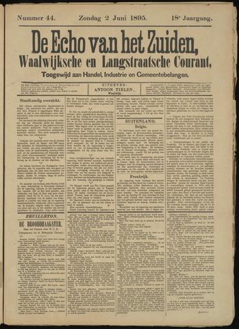 Echo van het Zuiden 1895-06-02