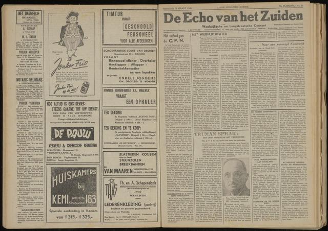Echo van het Zuiden 1948-03-23