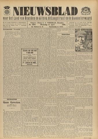 Nieuwsblad het land van Heusden en Altena de Langstraat en de Bommelerwaard 1928-04-11