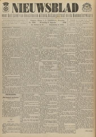 Nieuwsblad het land van Heusden en Altena de Langstraat en de Bommelerwaard 1924-08-06