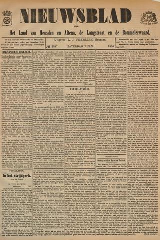Nieuwsblad het land van Heusden en Altena de Langstraat en de Bommelerwaard 1905-01-07