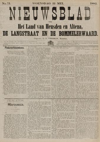 Nieuwsblad het land van Heusden en Altena de Langstraat en de Bommelerwaard 1882-05-31
