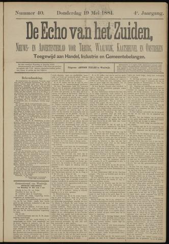 Echo van het Zuiden 1881-05-19