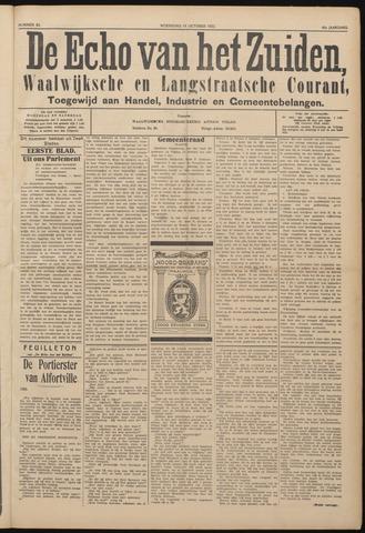 Echo van het Zuiden 1922-10-18