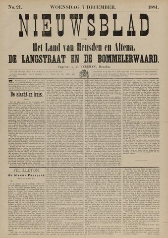 Nieuwsblad het land van Heusden en Altena de Langstraat en de Bommelerwaard 1881-12-07