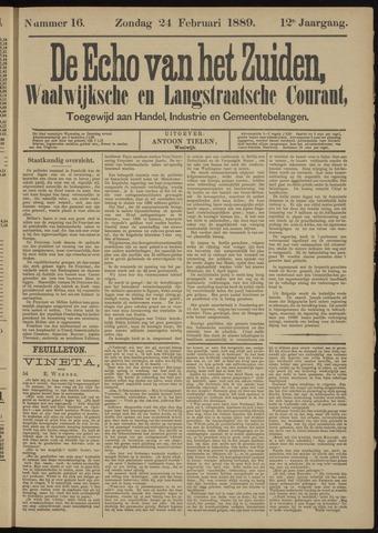 Echo van het Zuiden 1889-02-24