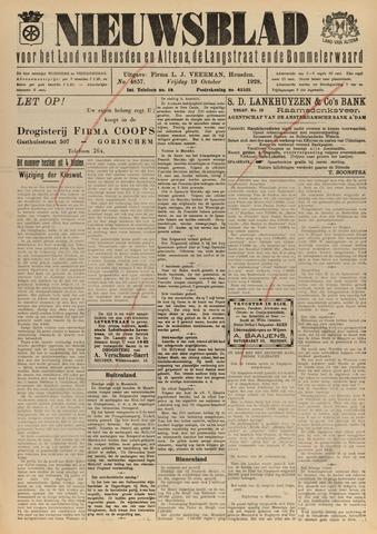 Nieuwsblad het land van Heusden en Altena de Langstraat en de Bommelerwaard 1928-10-19