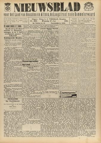 Nieuwsblad het land van Heusden en Altena de Langstraat en de Bommelerwaard 1928-06-20