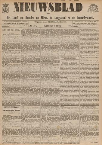 Nieuwsblad het land van Heusden en Altena de Langstraat en de Bommelerwaard 1900-02-03