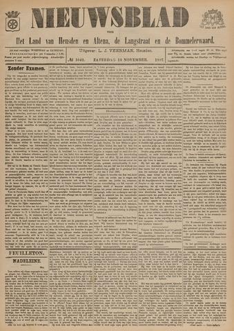 Nieuwsblad het land van Heusden en Altena de Langstraat en de Bommelerwaard 1897-11-13