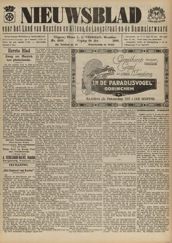 Nieuwsblad het land van Heusden en Altena de Langstraat en de Bommelerwaard 1925-05-29