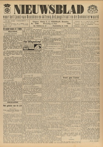 Nieuwsblad het land van Heusden en Altena de Langstraat en de Bommelerwaard 1930-06-04