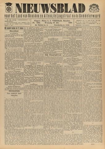 Nieuwsblad het land van Heusden en Altena de Langstraat en de Bommelerwaard 1930-05-21