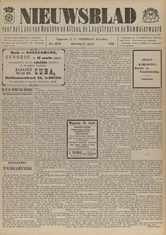 Nieuwsblad het land van Heusden en Altena de Langstraat en de Bommelerwaard 1921-04-09