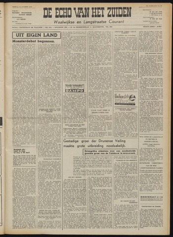 Echo van het Zuiden 1953-10-23