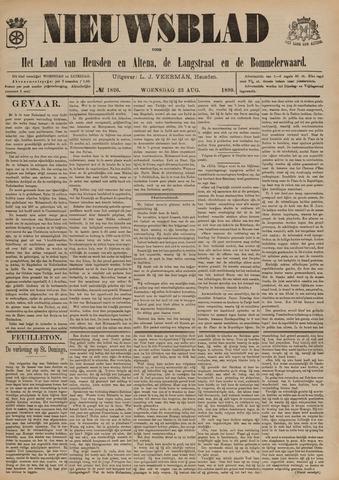 Nieuwsblad het land van Heusden en Altena de Langstraat en de Bommelerwaard 1899-08-23
