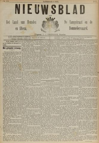 Nieuwsblad het land van Heusden en Altena de Langstraat en de Bommelerwaard 1891-05-02
