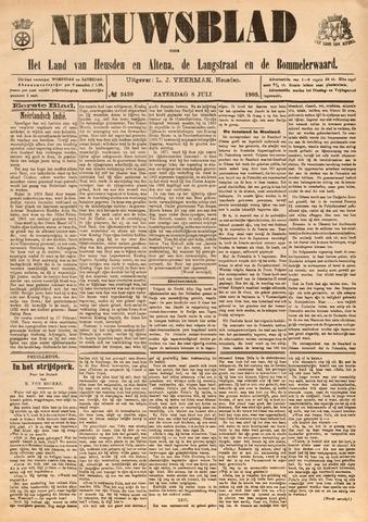 Nieuwsblad het land van Heusden en Altena de Langstraat en de Bommelerwaard 1905-07-08