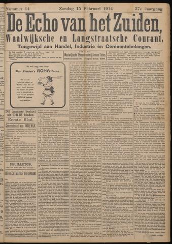 Echo van het Zuiden 1914-02-15