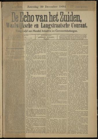 Echo van het Zuiden 1894-12-29