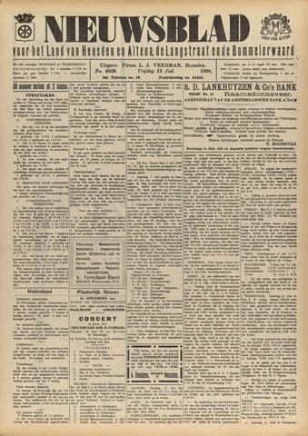 Nieuwsblad het land van Heusden en Altena de Langstraat en de Bommelerwaard 1928-07-13