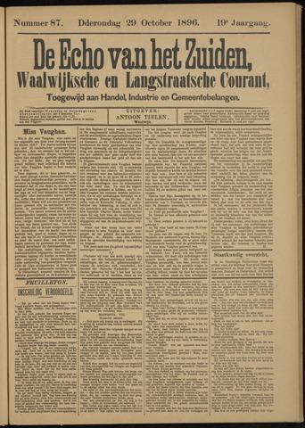 Echo van het Zuiden 1896-10-29