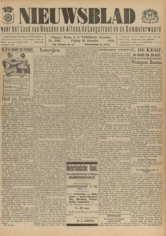Nieuwsblad het land van Heusden en Altena de Langstraat en de Bommelerwaard 1922-12-29