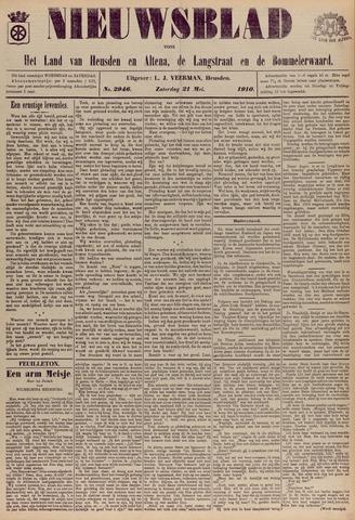 Nieuwsblad het land van Heusden en Altena de Langstraat en de Bommelerwaard 1910-05-21