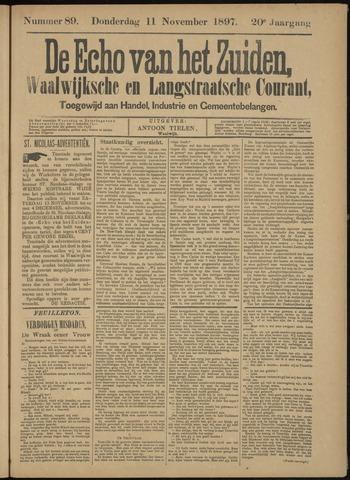 Echo van het Zuiden 1897-11-14