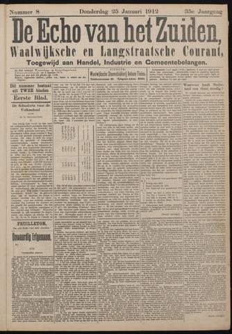 Echo van het Zuiden 1912-01-25